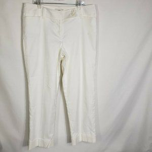 Ann Taylor LOFT Pants Boot Leg Stretch Cuffed Line